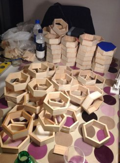 Wood cutting and assembling